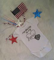 My Daddy is My Hero - Personalized Baby Body Suit