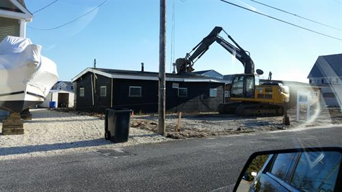 Waterfront House Demolition