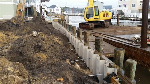 New Bulkhead Construction