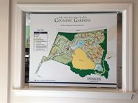 Site plan for The Village of Country Gardens
