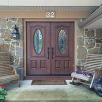 Entry Door installed by Hunter Door