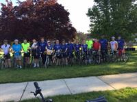 "Team Paparone rides in ""Pedal For Promise"" to support Urban Promise"