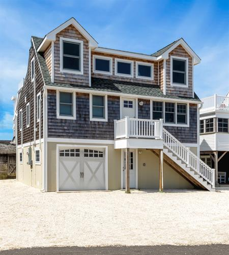 Dormer addition, Long Beach Island