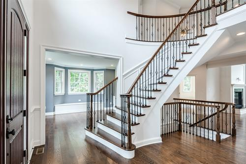 Medford Custom Foyer