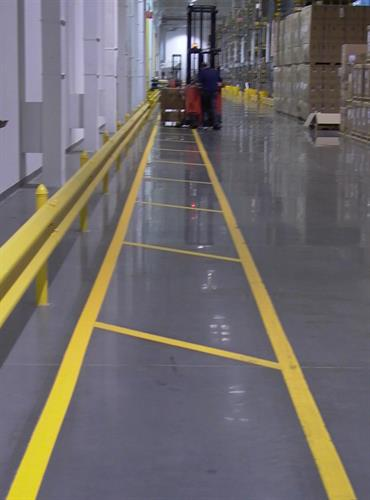 Safety walkways in Manufactoring pant