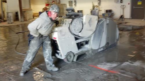 Concrete Slab Cutting