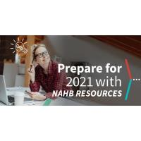 Prepare for 2021 with NAHB Resources Available Today