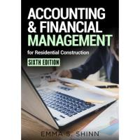 Just Released! Accounting & Financial Management for Residential Construction