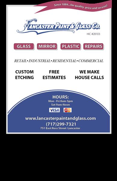 Lancaster Paint & Glass Co.
