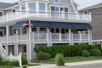 Canvas porch awnings
