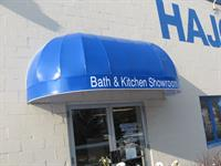 Hajoca showroom backlit awning in Lancaster