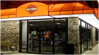 Lancaster Harley - Backlit awnings