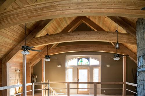 Residential Curved Beams