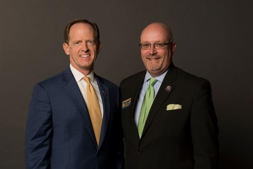 MIRUS making sure you have a voice with our US Senator Pat Toomey