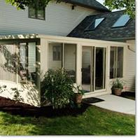 Add onto your home with a beautiful sunroom addition for more natural light with protection from the weather.