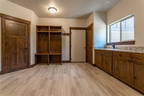 Laundry & Mud Room