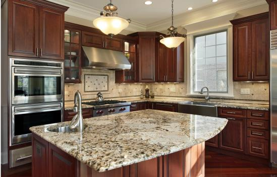 Cabinets, Countertops, & Lighting