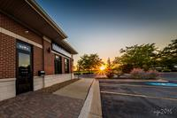 Our west-facing windows allow for a beautiful view of the sunset year round.