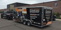 Vehicle wrap.  We do these in-house!