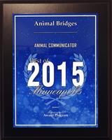 2015 Best of Minneapolis Animal Communicator Award