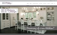 Kitchens by Design website design