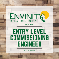 Entry-Level Commissioning Engineer (Cx Engineer)