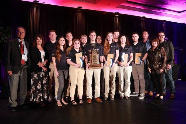 PHRC Staff with 1st Place Penn State NAHB Student Competition Team