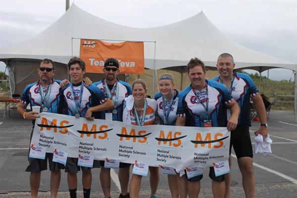RCC BIKE MS TEAM RAISED 14,900 to support a cure for MS