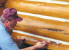 Flexible log home sealants for every weather-proofing job around your chinked or timber style log home.