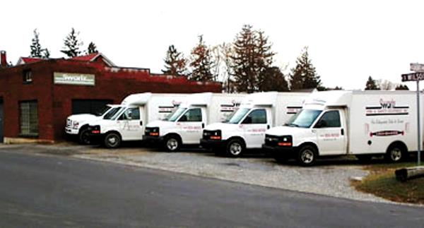 Swartz Fire & Safety Fleet of Trucks