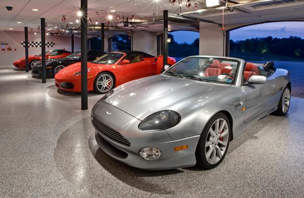 Professional Epoxy Floor Coatings for Garages & Showrooms