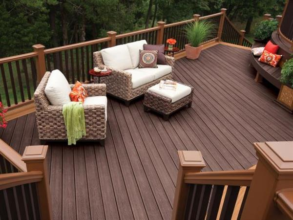Professional deck installation