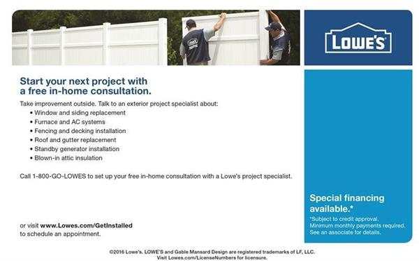 Professional exterior installation services
