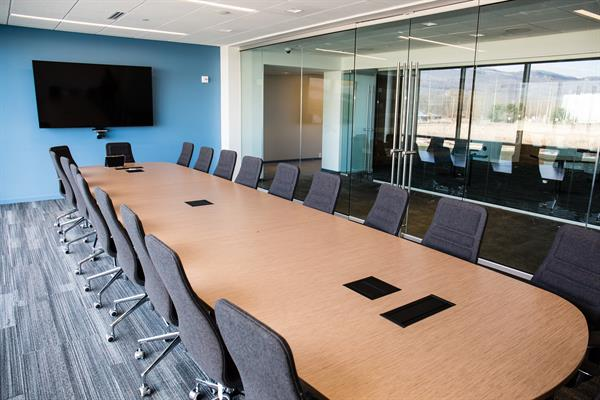 Conference Room with Enclose Moveable Walls