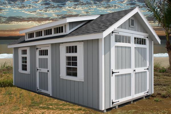 New England Dormer Shed