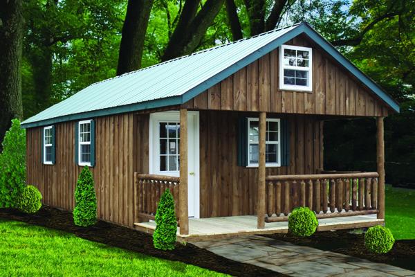 Board & Batten Recreational Cabin