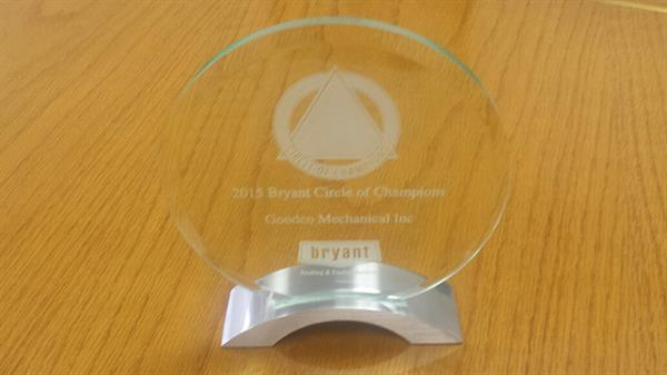Bryant Circle of Champions Award