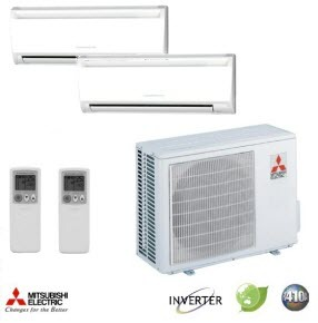 Mitsubishi Electric Ductless Heat Pumps System