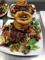 Dish BBQ Steak Salad for Luncheon Meeting at CityView