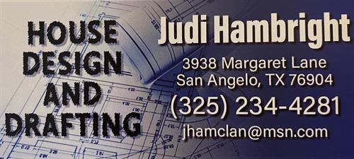 Judi Hambright House Designs and Drafting