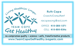 Ruth Cope of Team Cope Get Healthy