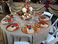 Guest table Barn Theme