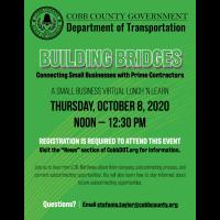 Building Bridges: Cobb DOT Small Business Event