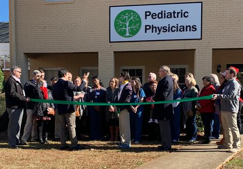 Ribbon Cutting - Peditric Physicians Roswell