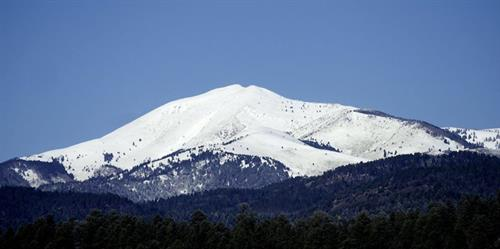 The Mountain in Snow