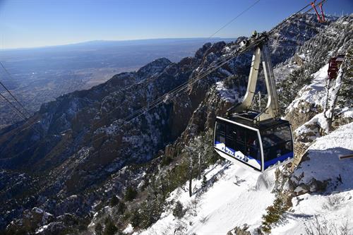 The Sandia Peak Tram