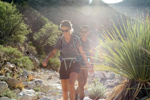 Trail to Slaughter Canyon Cave at Carlsbad Caverns National Park