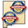 Discovery Map of Albuquerque and Discovery Map of Santa Fe