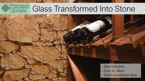 Glass Transformed Into Stone