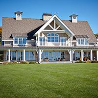 The Farmhouse Exterior